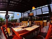 ocean view restaurant with - 1