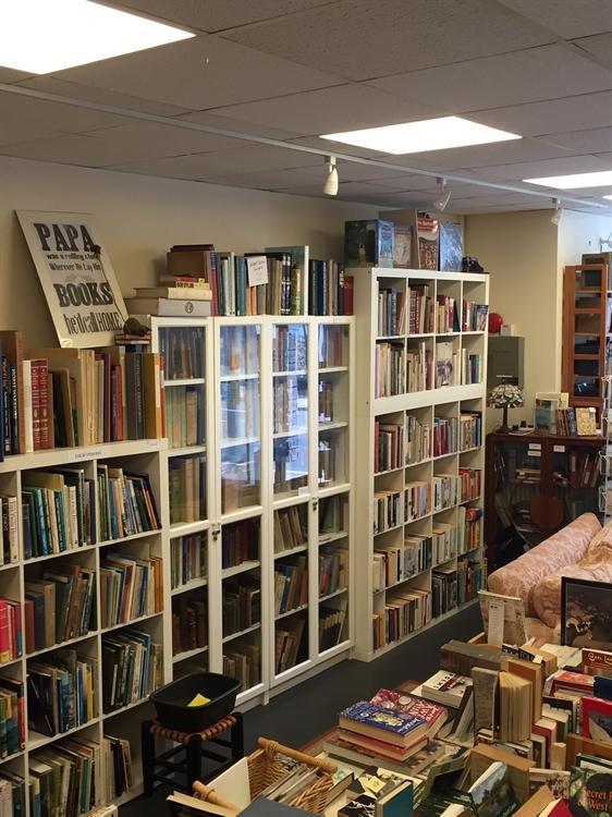 antiquarian secondhand bookshop - 9