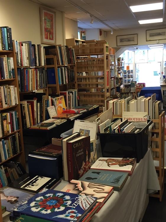 antiquarian secondhand bookshop - 6