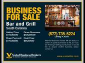 Bar And Grill In Southcarolina For Sale